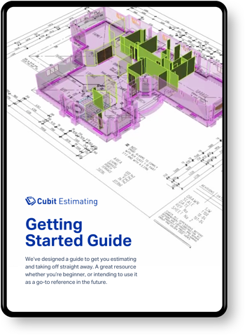 Getting Started Guide-Cubit Estimating
